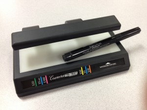 Counterfeit Detection System