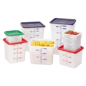 Square Container - White