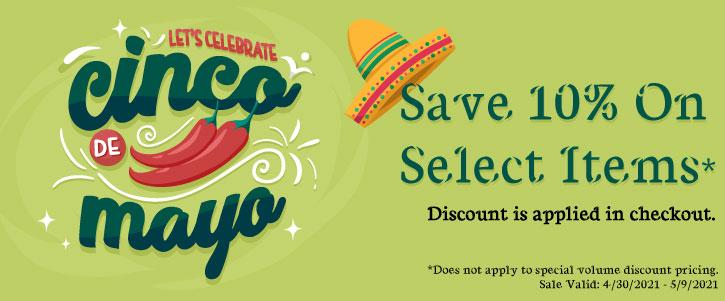 Cinco De Mayo - Sale!