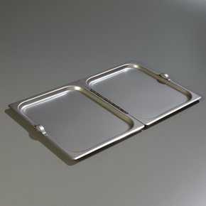 Stainless Steel Pan Cover Hinged