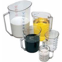 Measuring Cup - Plastic