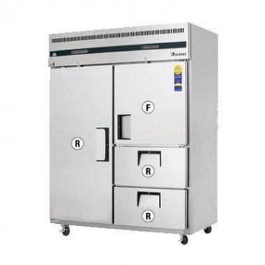 ESWQ2D2- Reach-In Dual Temperature Refrigerator/Freezer combo