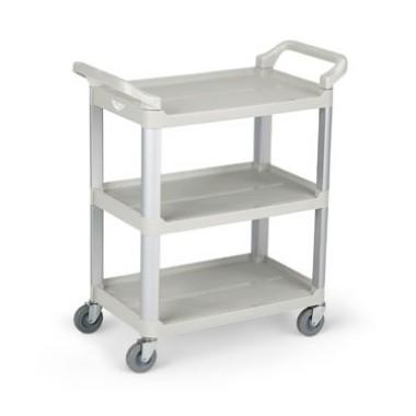 97004- Plastic Cart Blue Gray