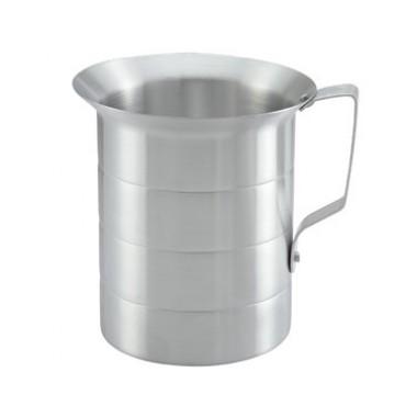 128 Oz (4 Qt) Measuring Cup Aluminum