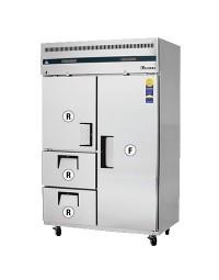 ESRF2D2- Reach-In Dual Temperature Refrigerator/Freezer combo