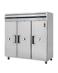 ESRF3- Reach-In Dual Temperature Refrigerator/Freezer combo