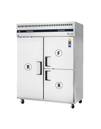 ESWQ3- Reach-In Dual Temperature Refrigerator/Freezer combo