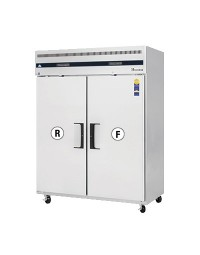 ESWRF2- Reach-In Dual Temperature Refrigerator/Freezer combo