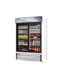 EMGR48- Reach-In Glass Door Merchandiser Refrigerator