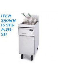 MJ35-SD- Fryer Gas 30-40 Lb With Spreader