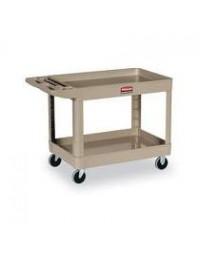 FG452089BEIG- Utility Cart 2 Shelf