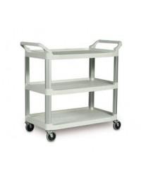 97005- Plastic Cart Blue Gray