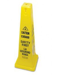 FG627687YEL - Yellow Safety Cone