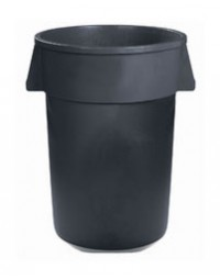 34103223- 32 Gal Waste Container Gray