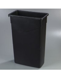 34202303- 23 Gal Waste Container Black