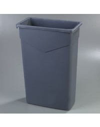 34202323- 23 Gal Waste Containter Gray