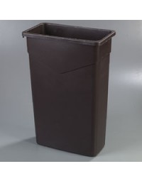 34202369- 23 Gal Waste Container Brown