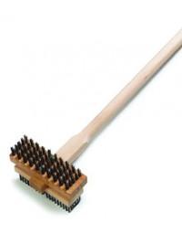 """4029400- 48"""" Broiler Brush Hardwood"""