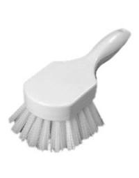 """40541EC02- 8"""" Utility Scrub Brush White"""