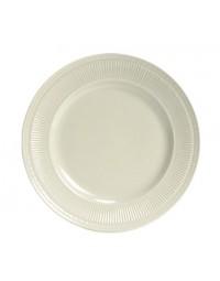 "HEA-064- 6-1/2"" Plate Eggshell"