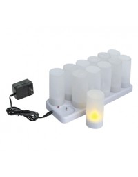 CLR-12S- Flameless Tealight Candle Set