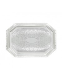 """CMT-1217- 17"""" x 12"""" Serving Tray Chrome"""