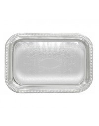 """CMT-1812- 18"""" x 12"""" Serving Tray Chrome"""