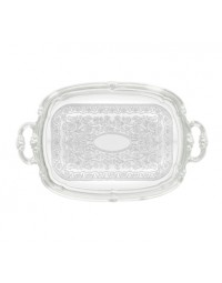 """CMT-1912- 19"""" x 12"""" Serving Tray Chrome"""