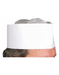 """DCH-3- 3"""" Disposable Chef's Hat"""