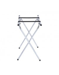 "31"" Tray Stand Folding Chrome"