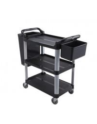 UC-3019K- 3 Shelf Utility Cart