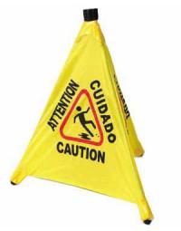 CSF-4- Caution Sign