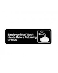 SGN-322- Wash Hands Sign