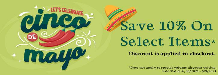 Cinco De Mayo Flash Sale